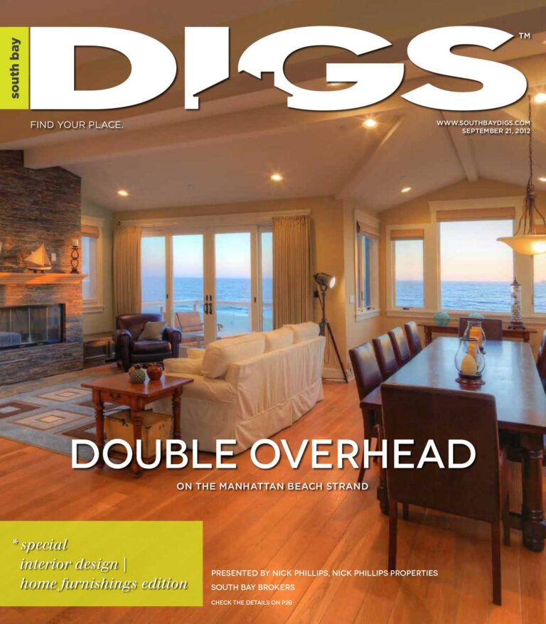 digs, south bay digs, magazine, issue 47, september 21, 2012