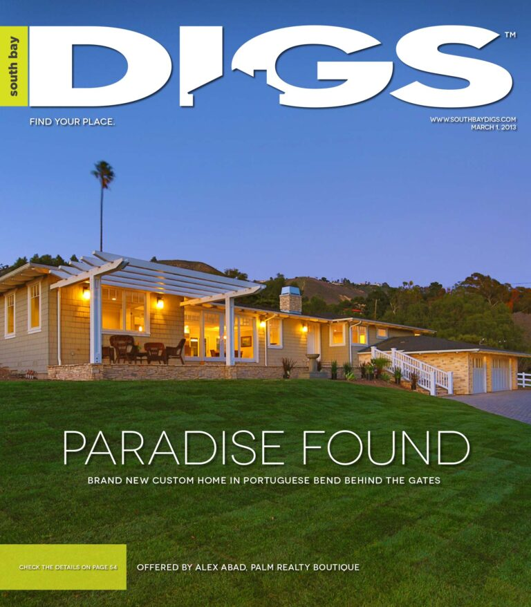 digs, south bay digs, magazine, issue 55, March 1, 2013