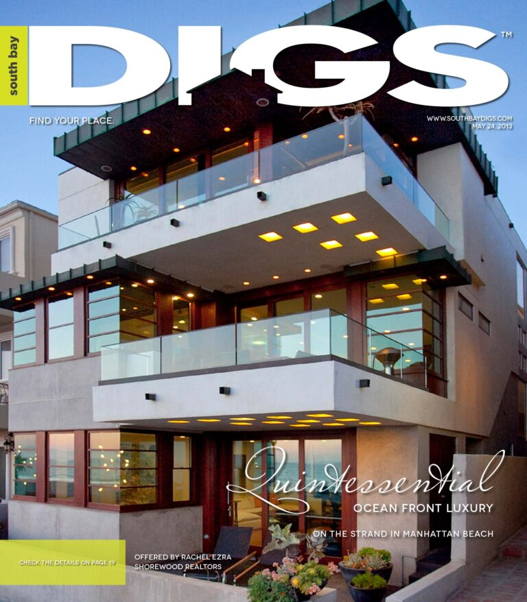 digs, south bay digs, magazine, issue 61, May 24, 2013