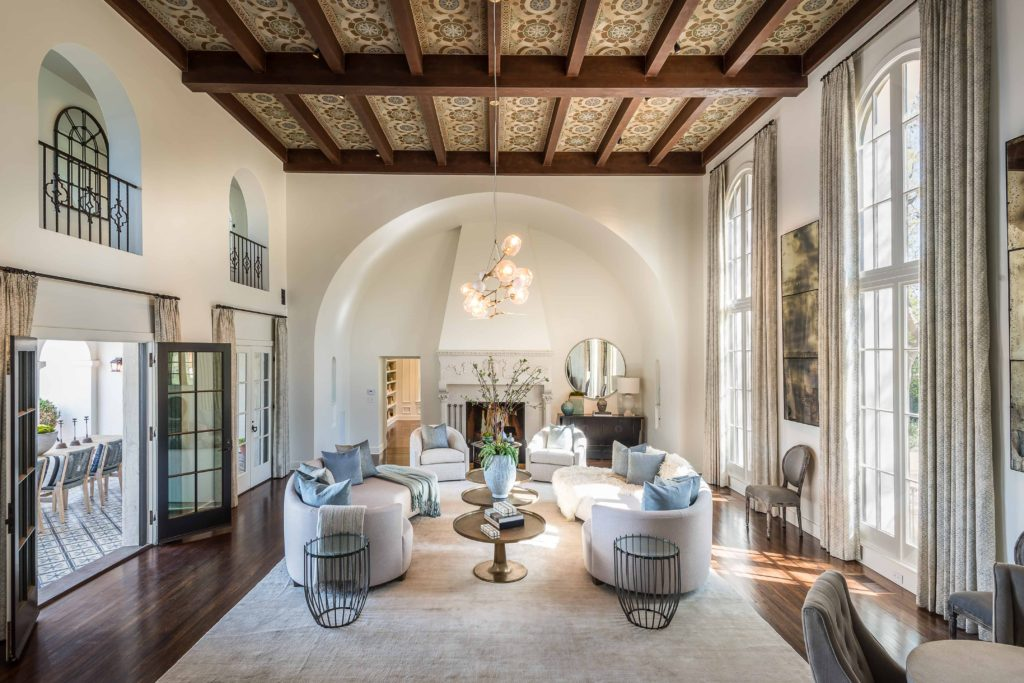 Italian Renaissance Revival Transformed into Brentwood lifestyle in a lavishly historical locale.