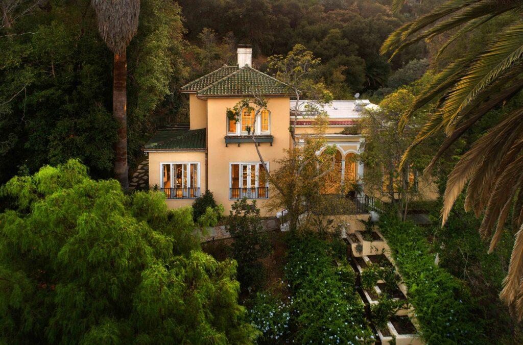 1920's Mediterranean-Revival mansion