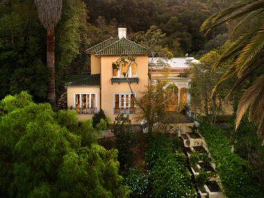 1920's Mediterranean mansion