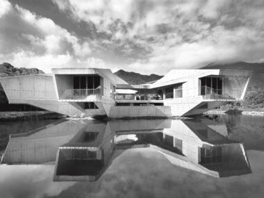 art deco - brutalism exterior