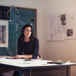Alison Berger creates home art