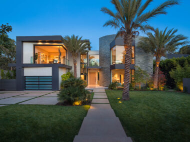 Architectual Exterior Home in Brentwood