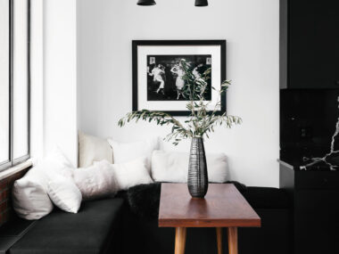 black Decor in modern home | Westside DIGS Magazine editorial