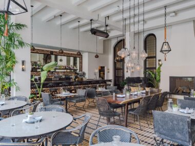 Hotel Figueroa, top-rated hotel in DTLA featured in South Bay DIGS Magazine