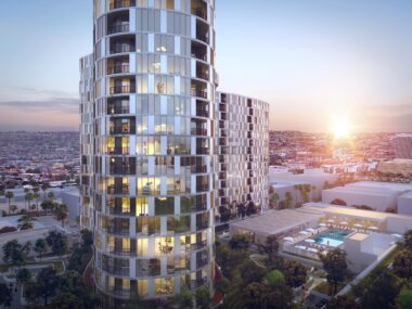 Large Architecture's $300M Luxury Apartments in Koreatown featured in DIGS Magazine