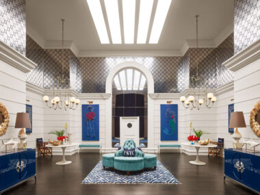 Jonathan Adler-decorated—and redecorated—Parker Palm Springs
