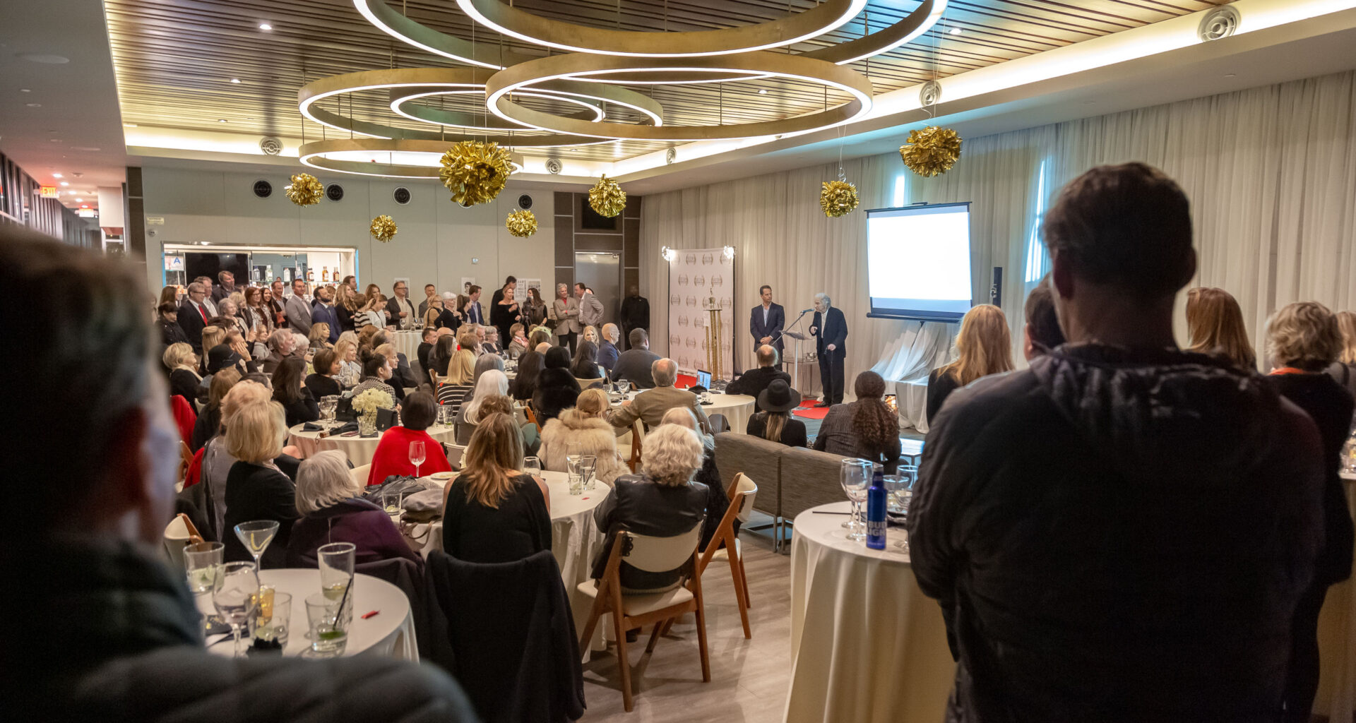 """Awards ceremony honors two of the Beach Cities real estate community's """"founding fathers"""" in tribute to Jack Gillespie and Arnold Goldstein."""