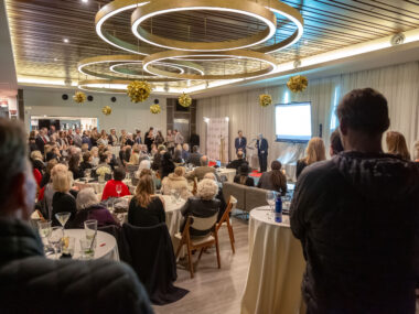 "Awards ceremony honors two of the Beach Cities real estate community's ""founding fathers"" in tribute to Jack Gillespie and Arnold Goldstein."