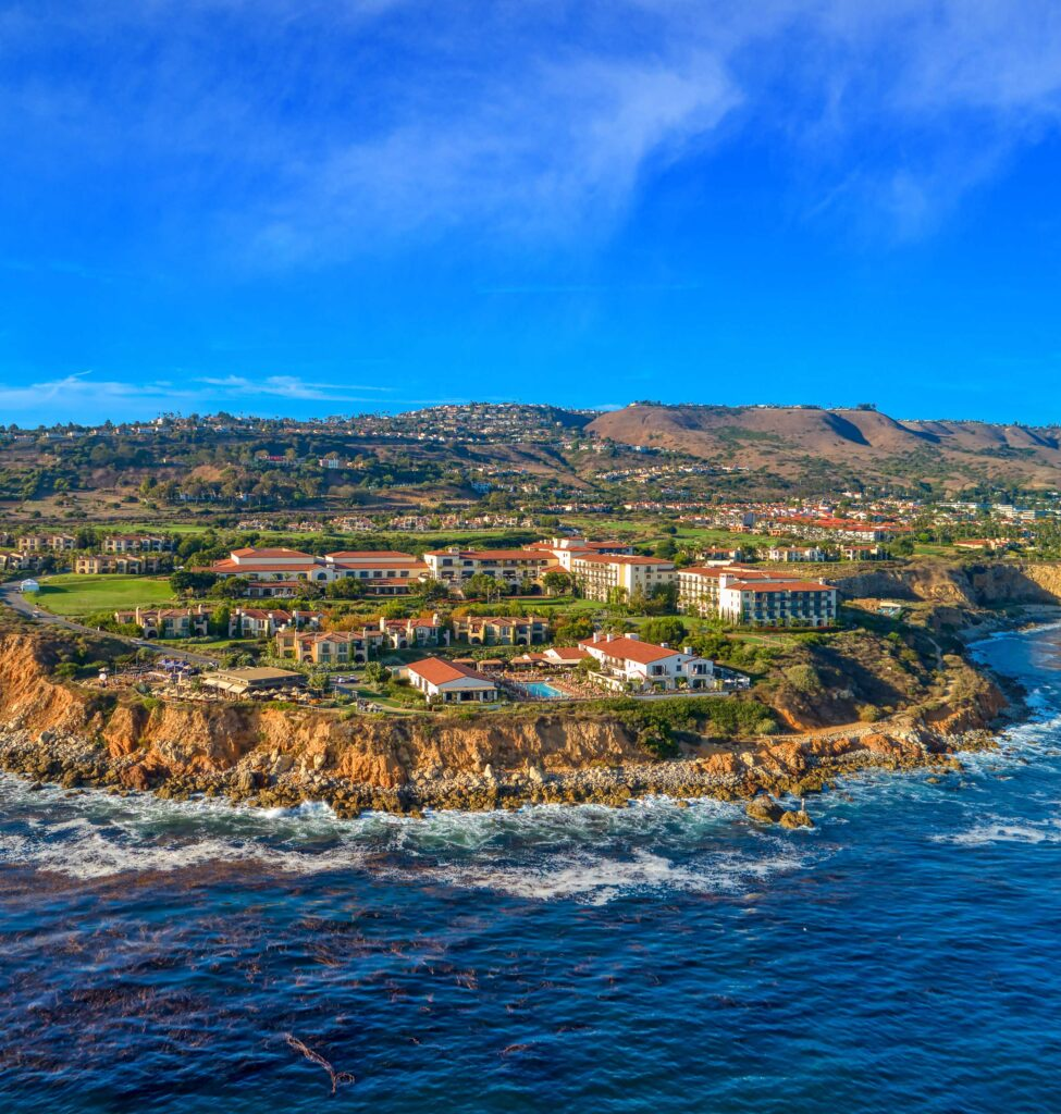 Mediterranean-style resort in palos verdes peninsula