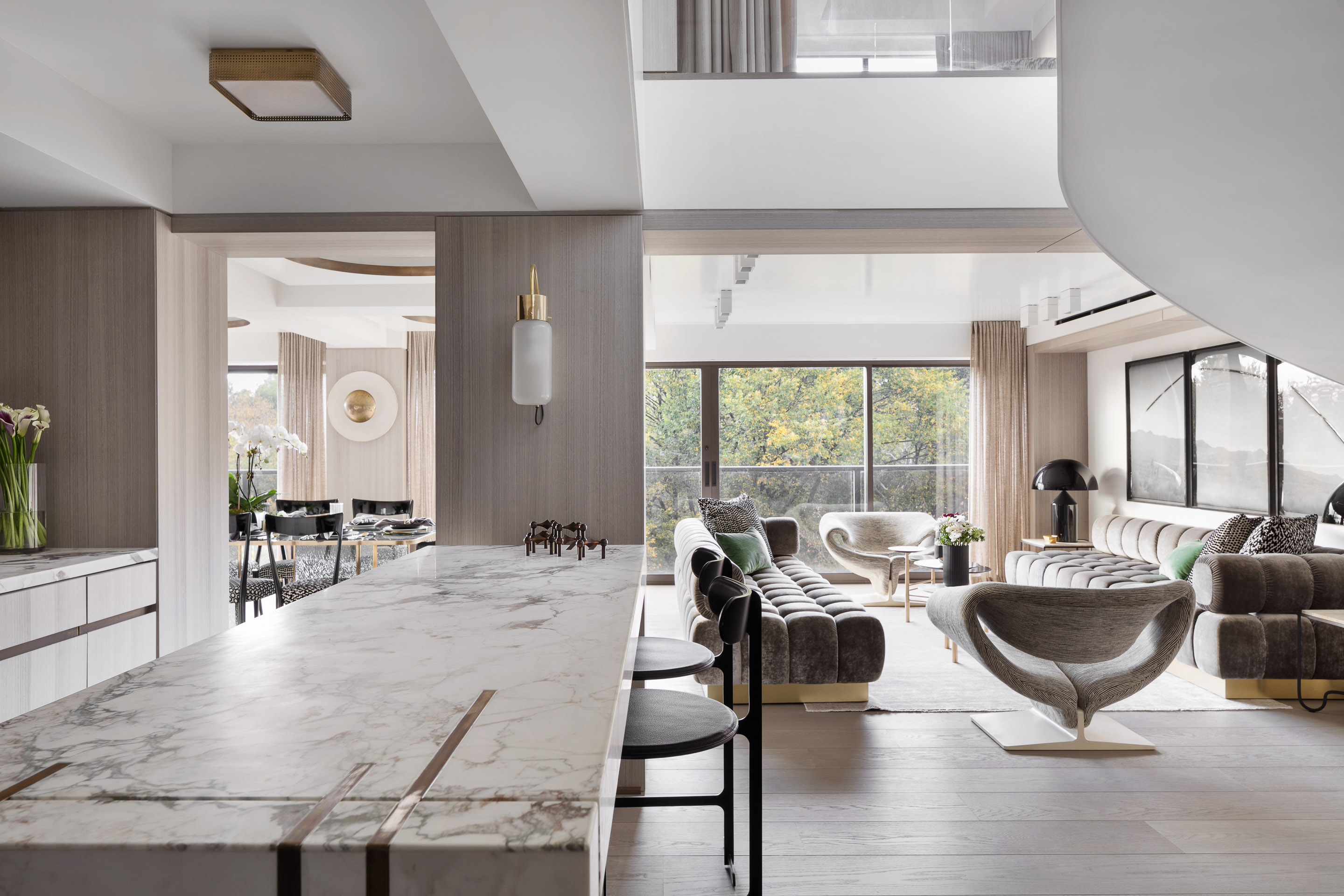 Workshop/APD and interior designer Jenny Stone create a family home in the heart of Manhattan.