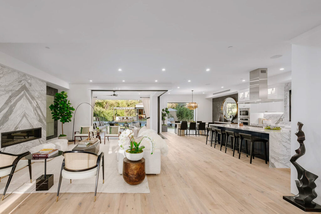 Newly Built Home In Encino