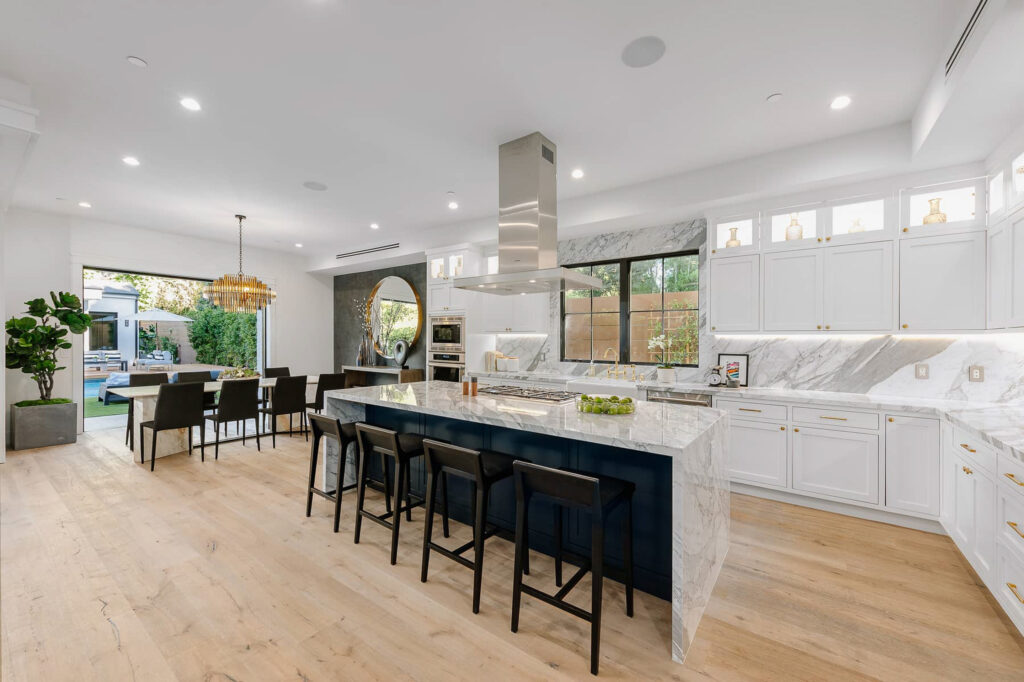 Newly Built Home In Encino Built For Entertaining