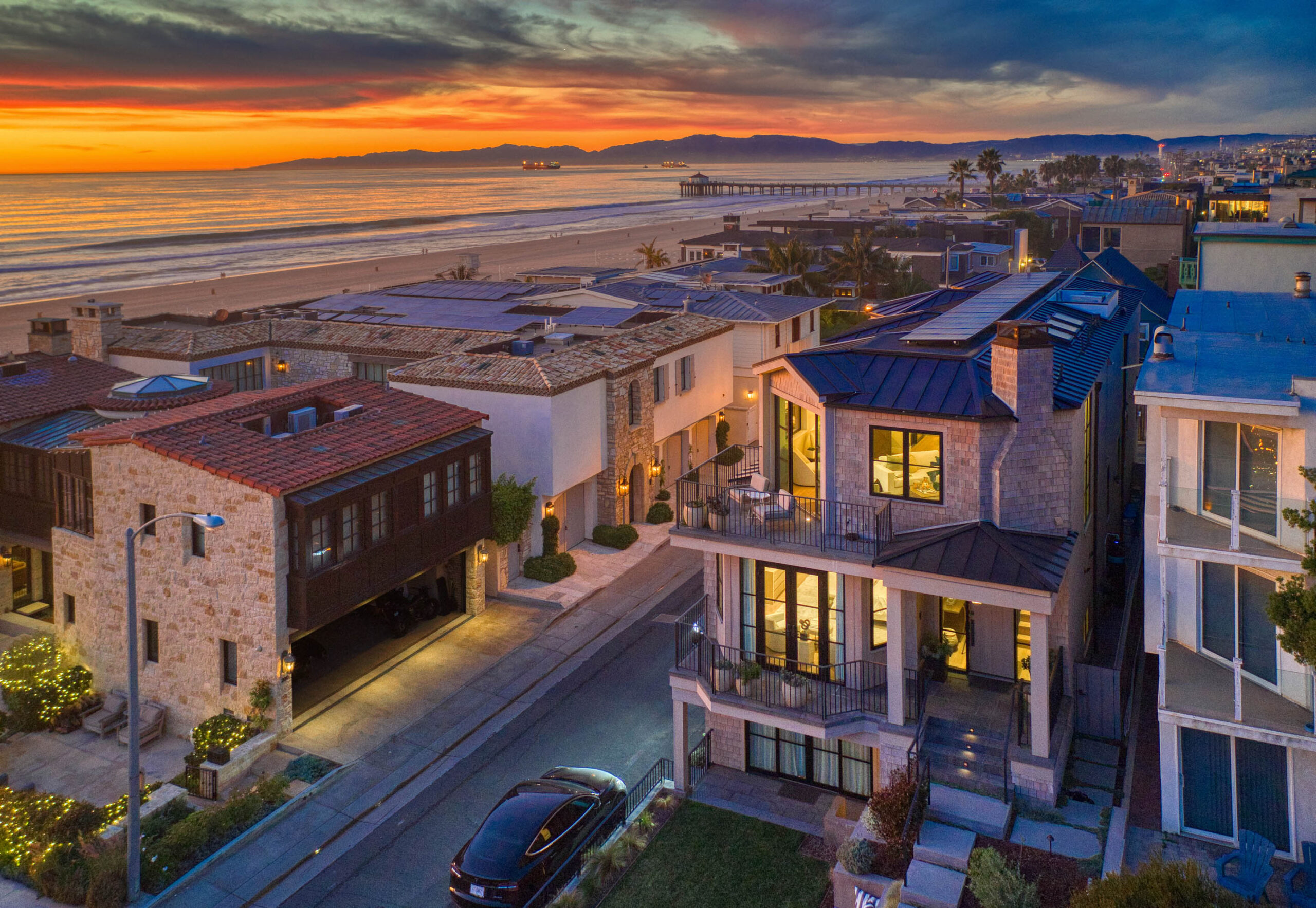beachfront home in south manhattan beach