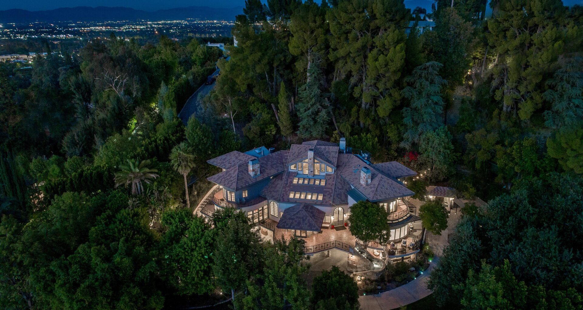 Tom Petty's Encino home for sale_aerial