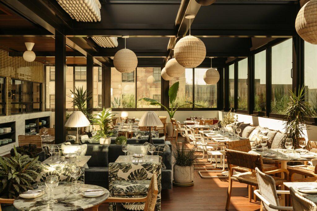 3. Pilot - Rooftop restaurant