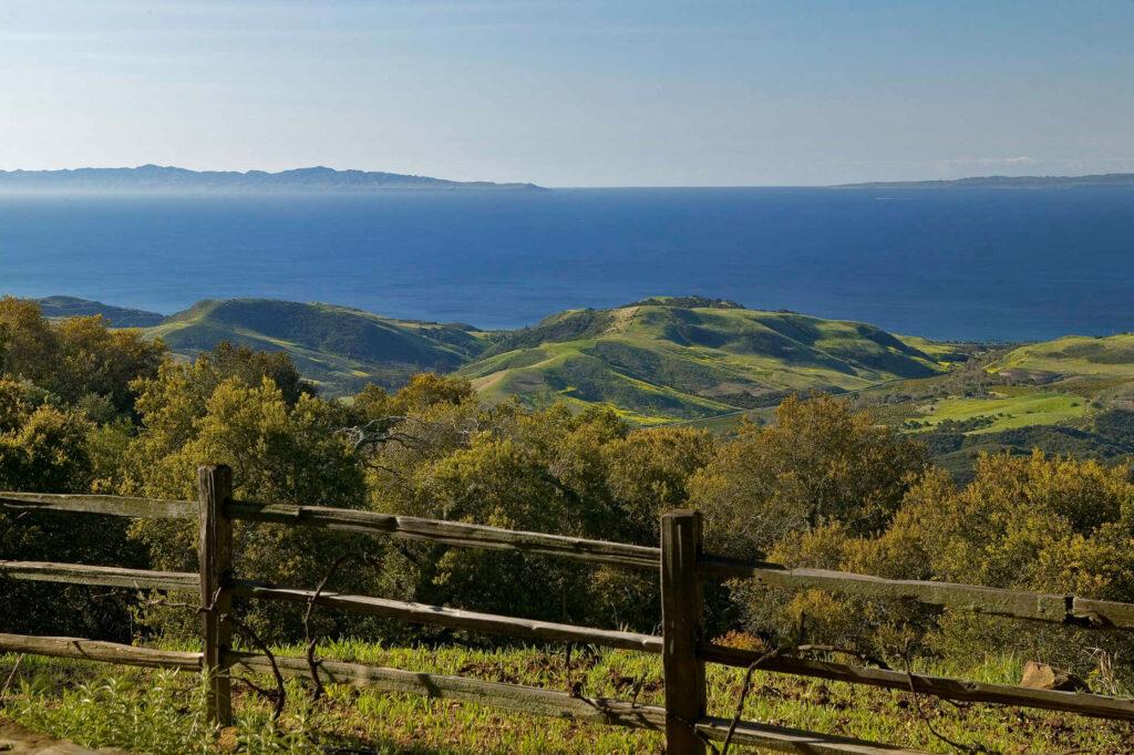 view of santa barbara hills