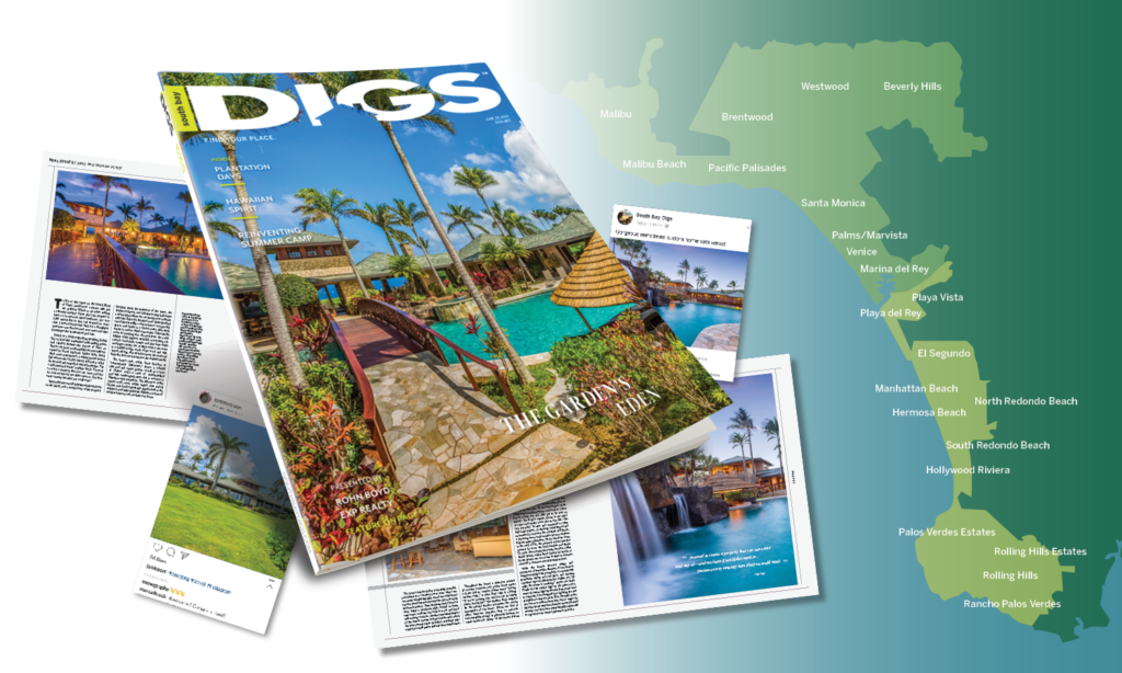 hawaii digs magazine mockup