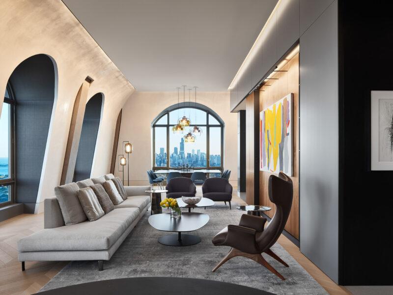 Jon Heinert, Wheeler Kearns Architects, Chicago, Penthouse