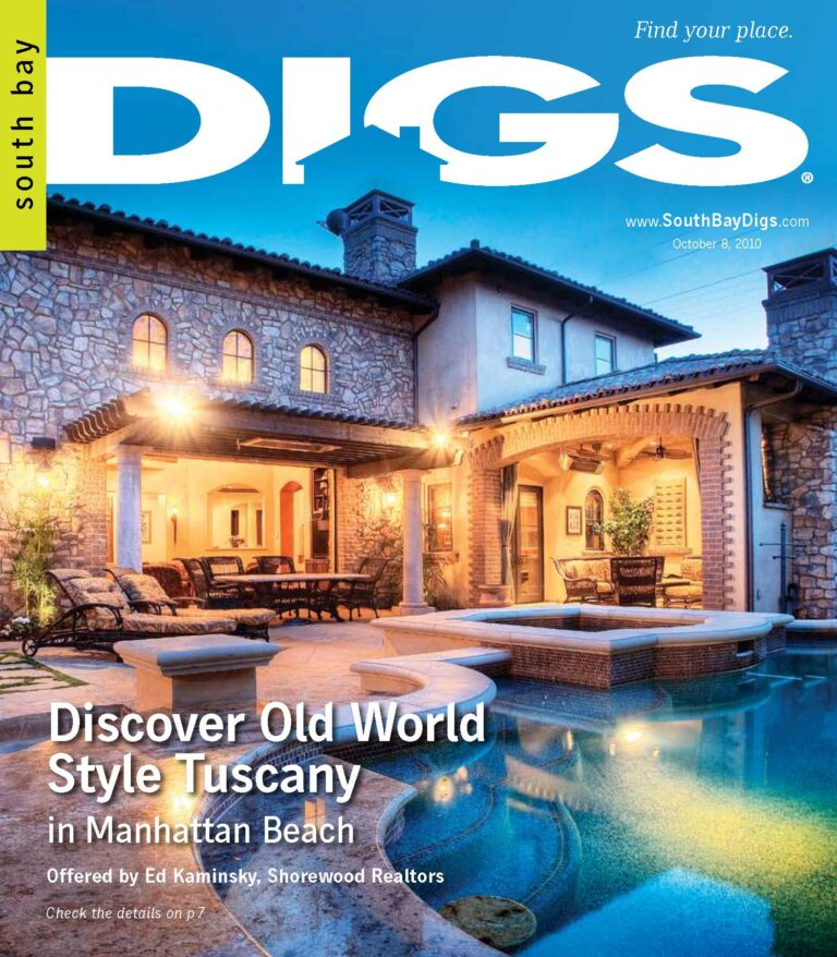digs, south bay digs, magazine, edition 1, issue 1, October 8, 2010