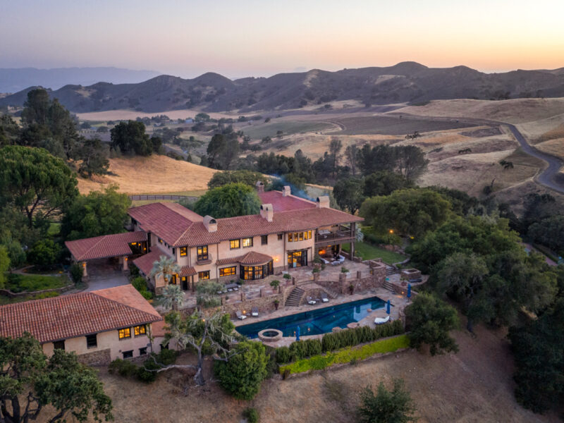 3420 Brinkerhoff Avenue, santa ynez, aaron kirman, aaron kirman group, Neyshia Go, compass, Rancho Latigo, Jean-Claude Brouillet, David L. Leavengood, Spanish Colonial, Fred Steck, Goldman Sachs, equestrian, wine country, Santa Barbara,