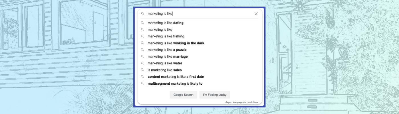 what is marketing autosuggest graphic