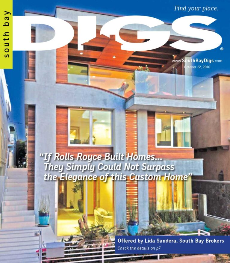 digs, south bay digs, magazine, issue 2, october 22, 2010