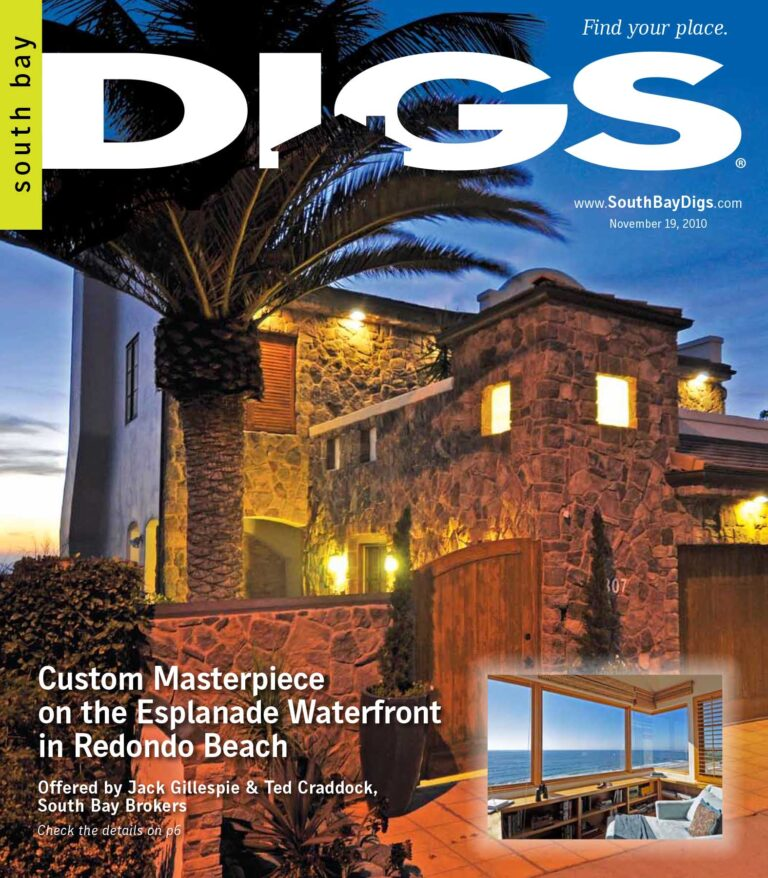 digs, south bay digs, magazine, issue 4, november 19, 2010