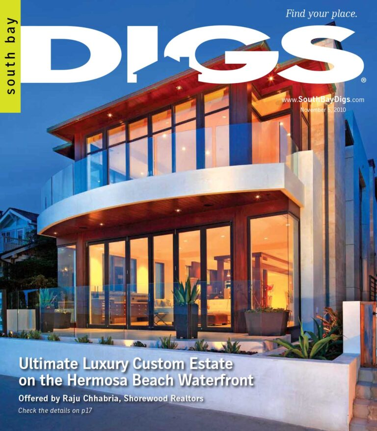 digs, south bay digs, magazine, issue 3, november 5, 2010