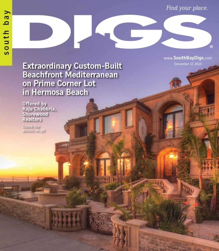 digs, south bay digs, magazine, issue 5, december 17, 2010