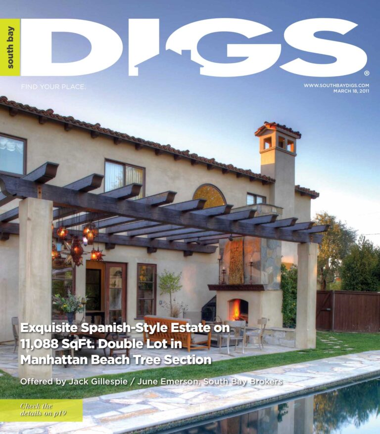 digs, south bay digs, magazine, issue 10, march 18, 2011