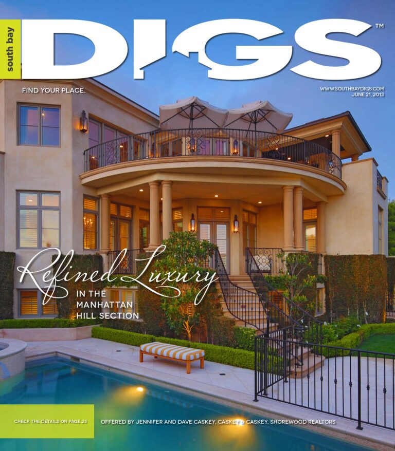 digs, south bay digs, magazine, issue 63, June 21, 2013