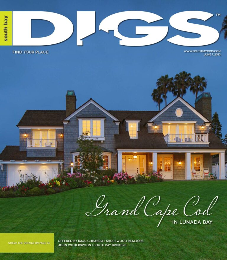 digs, south bay digs, magazine, issue 62, June 7, 2013