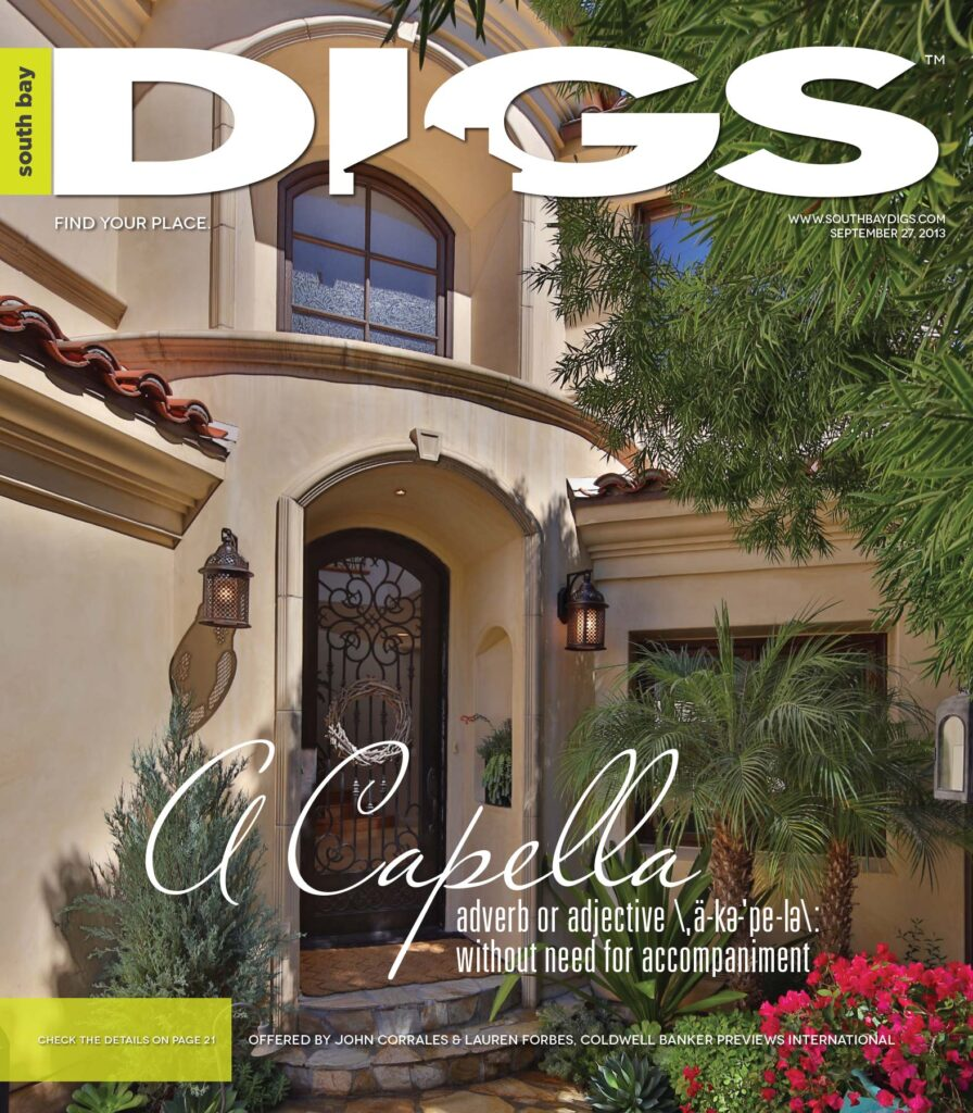 digs, south bay digs, magazine, issue 70, September 27, 2013