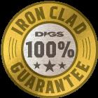 DIGS Iron Clad Guarantee Badge