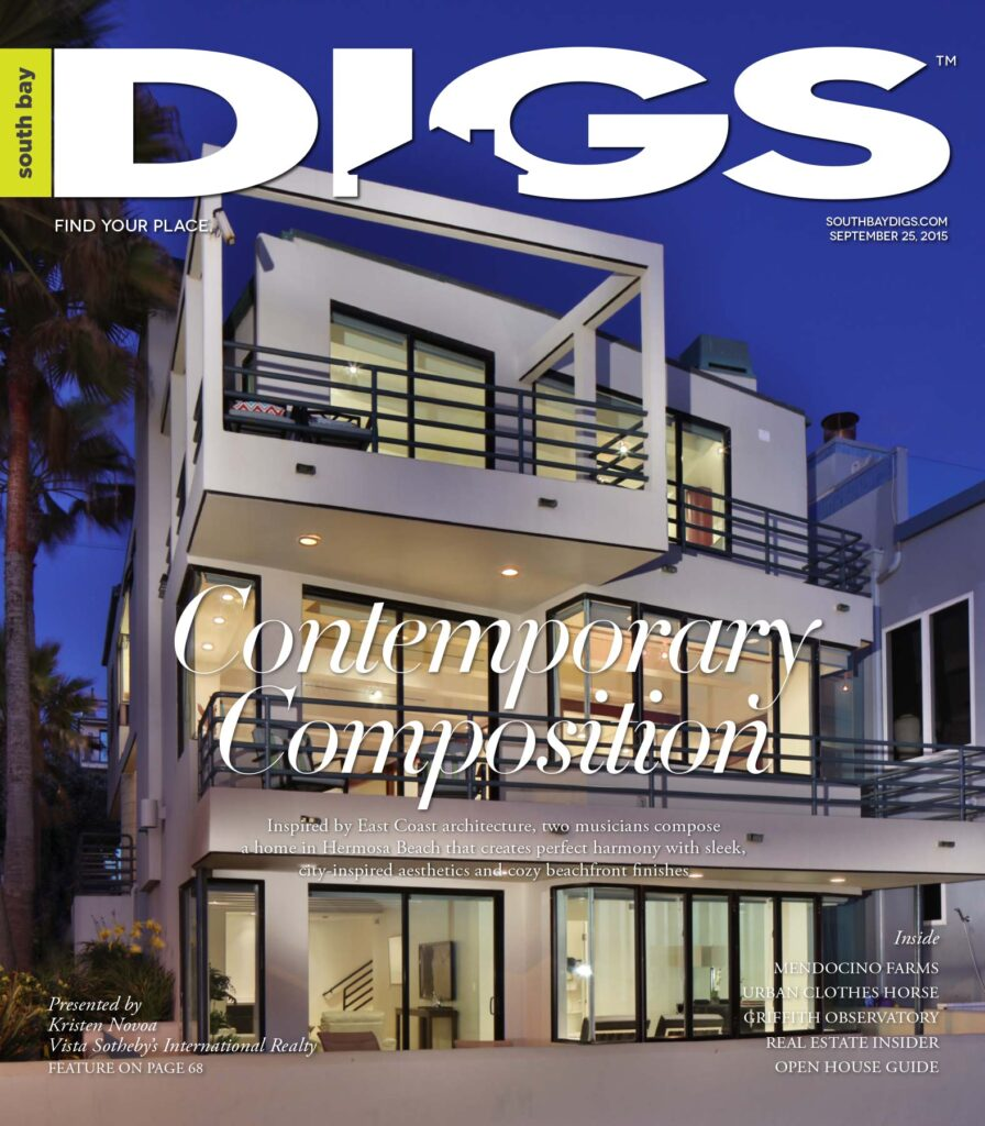 digs, south bay digs, magazine, issue 117, September 25, 2015
