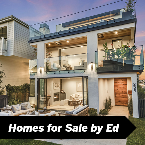 Homes for Sale by Ed