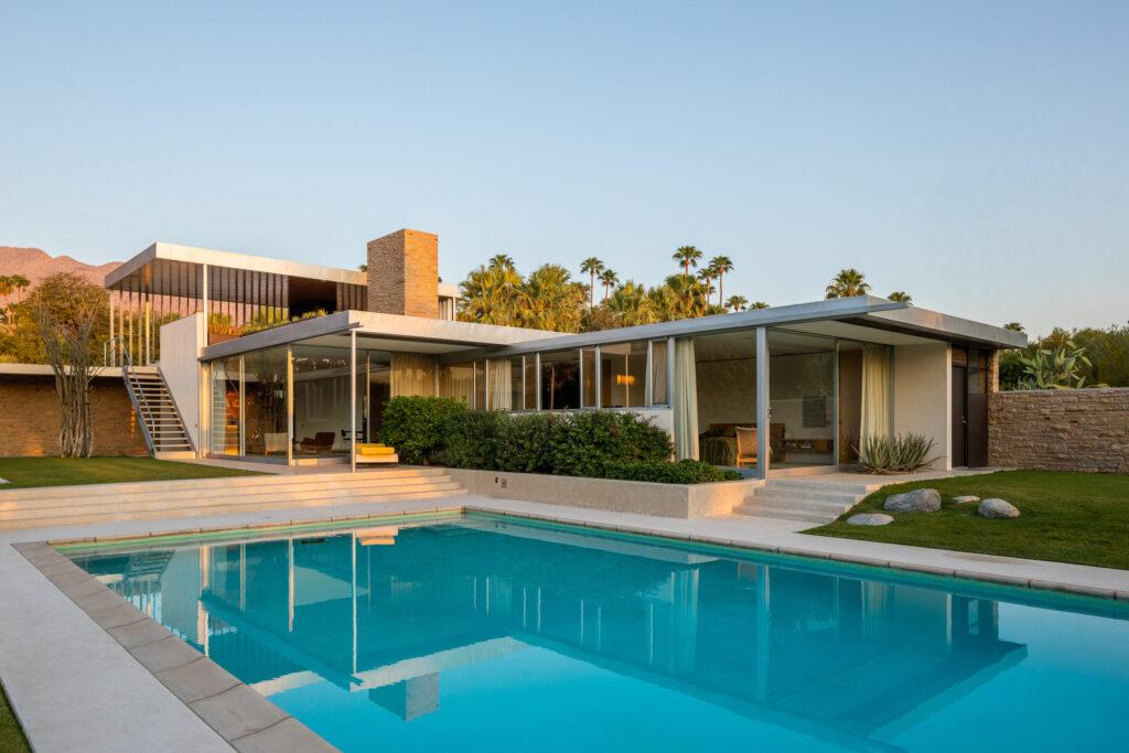 Kaufmann House, Richard Neutra, Palm Springs, architecture, architect, gerard bisignano, vista sotheby's