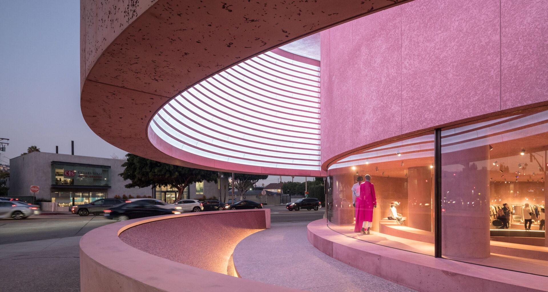 The Webster, David Adjaye, Los Angeles, LA, fashion, pink, purple,