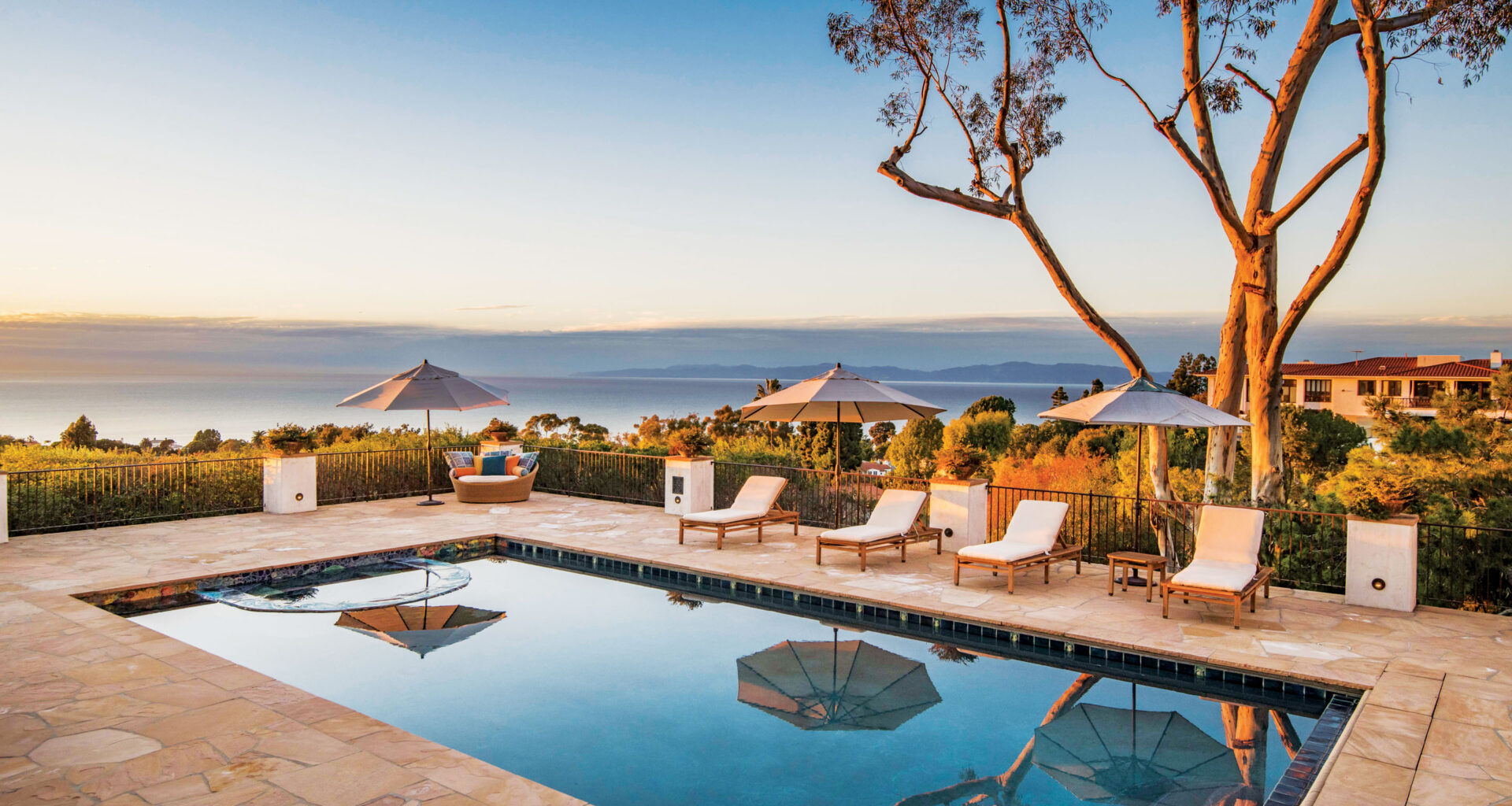 south bay digs - oceanview from pool house